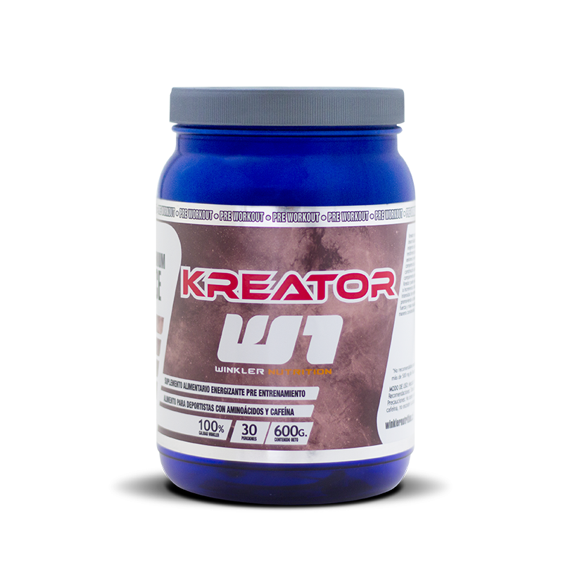 Kreator Blue berry 600grs.